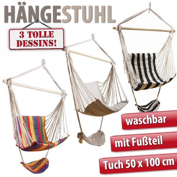 Hängesessel Hängesitz Hängeschaukel 3 DESSINS  @ebay 14,99€