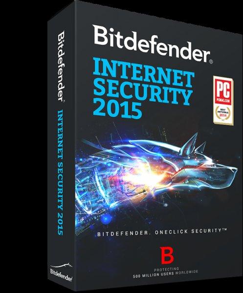 Bitdefender Internet Security 2014 bzw. 2015 (6 Monate)