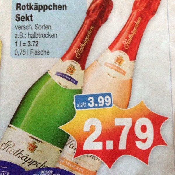 2,79€ Rotkäppchen Sekt versch. Sorten Kaufpark Velbert [Lokal]?