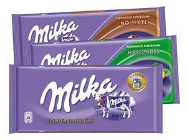[REWE] Milka Schokolade 0,59€ pro Tafel