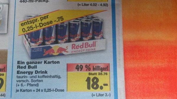 24x Red Bull für 18€ oder Tassimo