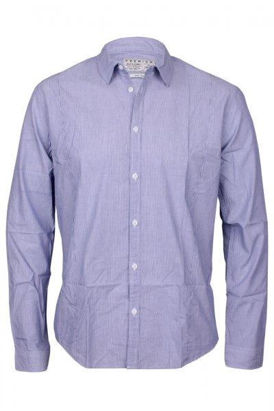 Jack & Jones Herren Hemd Blue/White