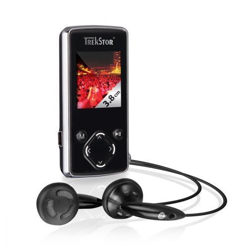 Trekstor i.beat moveS2.0 MP3 Player 8 GB chrom
