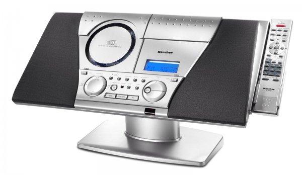 Ebay Basket: Karcher MC 6550(N) Musikcenter CD MP3 Player Radio Kassette Stereoanlage Stereo - wie Neu