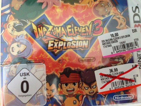 Inazuma Eleven 3 - Kettenblitz / Explosion 3DS (Lokal MM Baden-Baden)