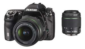 Pentax K-5 II Kit 18-55 mm + 50-200 mm für 850€ @Amazon.fr