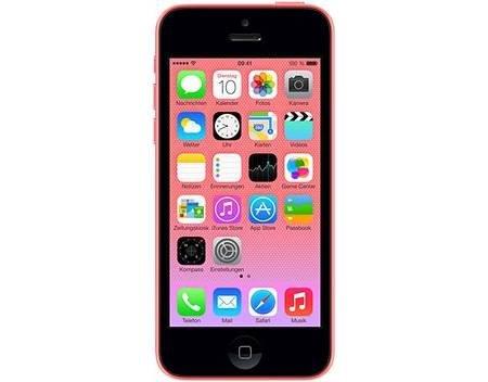 iPhone 5C 8GB (pink) 360€ oder HTC One M8 (Grau o. Silber) 462€ jeweils Demoware