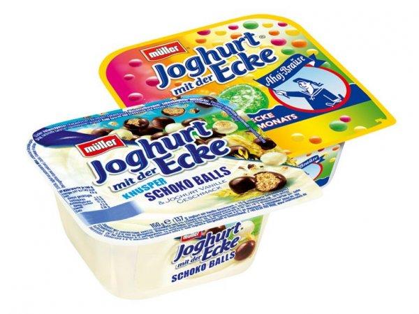 Müller Joghurt mit der Ecke / Ecke des Monats um 40% reduziert bei Lidl - bundesweit - !