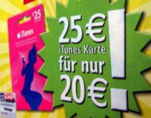 KW 33: REWE iTunes Aktion 20%