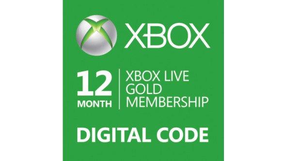 12 Monate Xbox Live Gold für 28,15€ @G2A