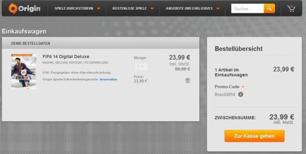 Origin - FIFA 14 Digital Deluxe Edition