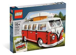 Intertoys LEGO 10220 VW Volks­wa­gen T1 Cam­ping­bus für 84,99€
