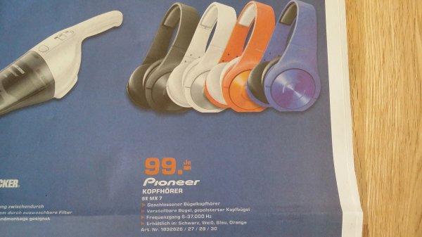 (lokal Kassel Saturn) Pioneer SE MX 7 Kopfhörer