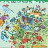 Plakate für Kinder zum Thema Politik und Internettipps