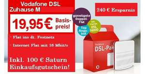 (Lokal Krefeld) Vodafone Classic M Paket DSL !