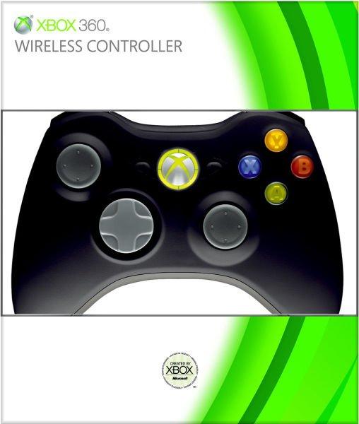 Microsoft- Xbox 360 Black Wireless Controller für 21,99€ inkl. Versand zavvi.es