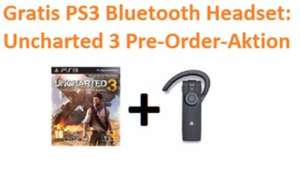 Sony Bluetooth Headset + Uncharted 3