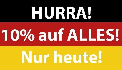 [Lokal Pforzheim & Konstanz] Heute 10% auf alles im MyGarden (Apple Shop)