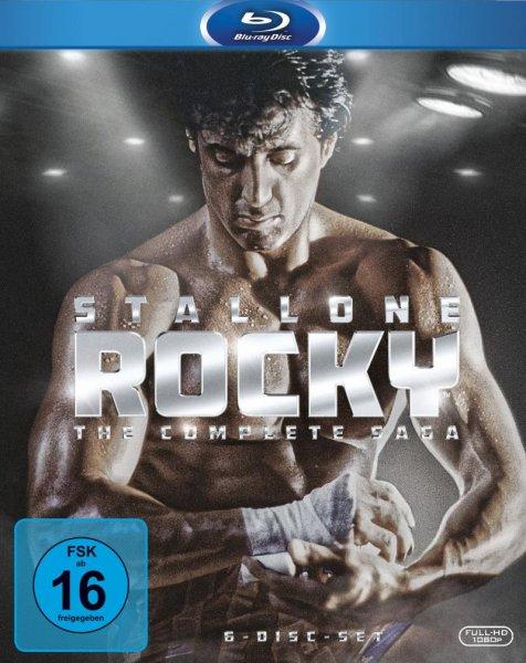 [Alphamovies.de] Rocky - Complete Saga [Blu-ray] für 16,66€ + VSK