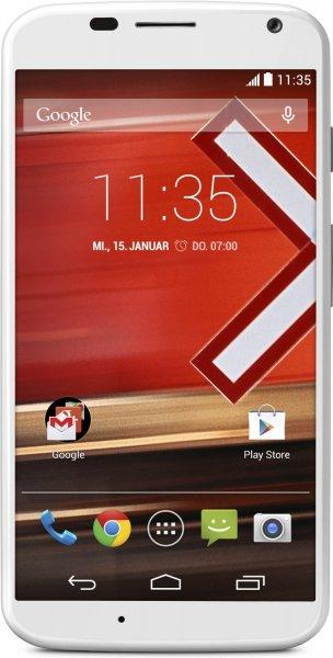 [amazon.es] MOTOROLA Moto X™ 16GB, Android 4.4 Smartphone schwarz u. weiß inkl. Vsk