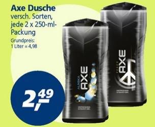 [offline] Axe Duschgel 2x250 ml bei real