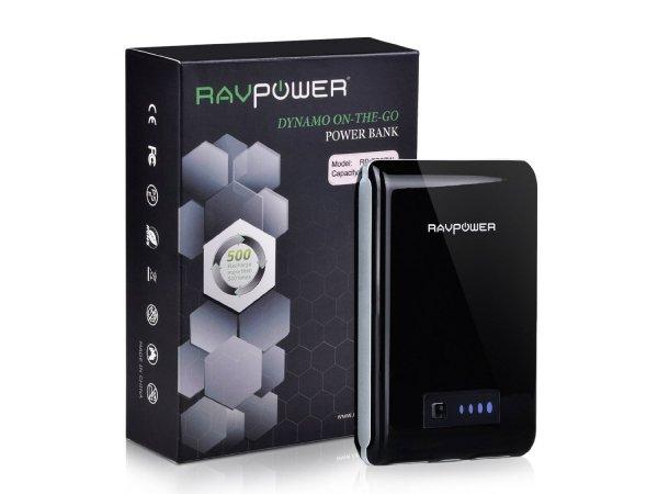 [zum vierten Mal Weltmeister Deutschlands ] 20% Rabbat auf RAVPower 10400mAh Powerbank und 5-in-1s FileHub @Amazon
