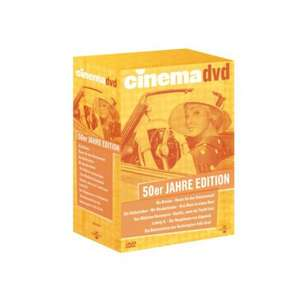 CINEMA 50er Jahre Edition DVD-Box 59,90€ @favorio