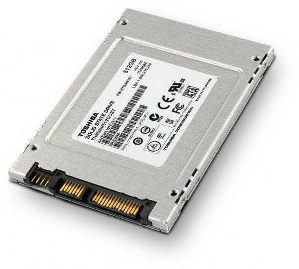 512GB SSD (Toshiba THNSNH512GCST) für 150€ @Medion