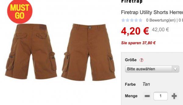 Firetrap Utility Shorts viele Größen sportsdirect.com