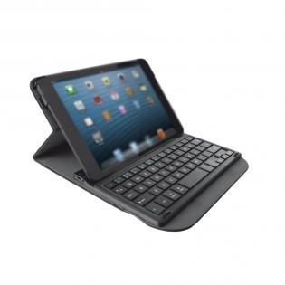 Trust Executive Folio Stand mit Bluetooth Tastatur für Apple iPad Mini & Retina @Redcoon