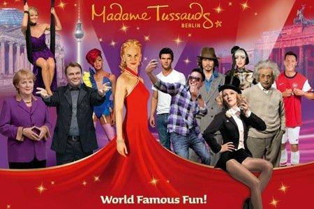 Wieder da: Tageskarte für das berühmte Wachsfigurenkabinett Madame Tussauds Berlin für 12,50 €
