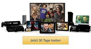 Amazon Prime Instant Video - 20 Euro Amazon Gutschein