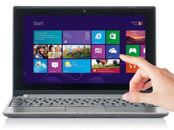 MEDION THE TOUCH 10 E1318T Netbook 500GB, 2GB Ram, AMD 1GHz, Windows 8.1, Office 2013 *B-WARE* für 199,99€ @ebay