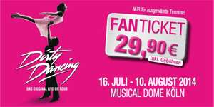 DIRTY DANCING – DAS ORIGINAL LIVE ON TOUR für nur 29,90 Euro pro Ticket