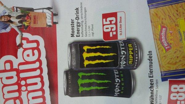 [REWE, ab 17.07] Monster Energy Drink für 0,95€ plus Pfand.