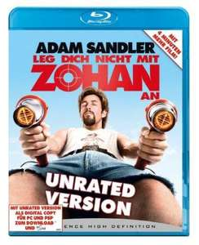 [Amazon.de] Leg Dich nicht mit Zohan an (Blu-Ray)
