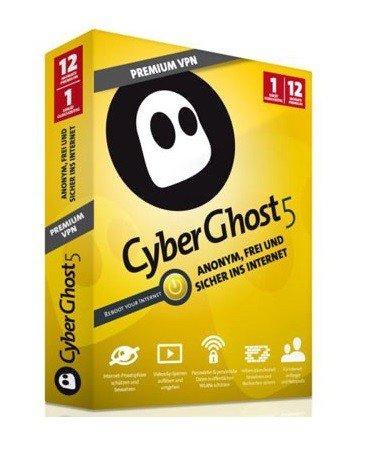 CyberGhost 5 Premium VPN - 3 Monate gratis / 12 Monate 14,99 € (Premium Plus)