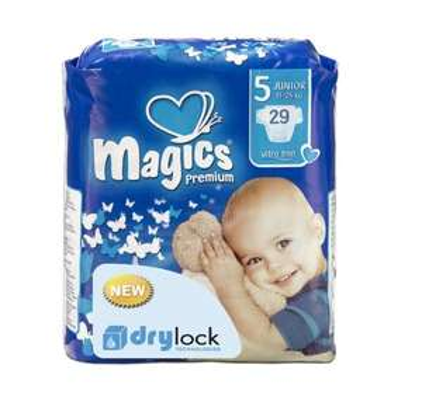 babies best Magics Premium Windeln, Monatspackung, 174 Windeln für 19,99€