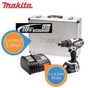 Makita 18V Akku-Bohrhammer-Set mit 2 x 4.0Ah Special Edition statt UVP 599.- nur 288,90€