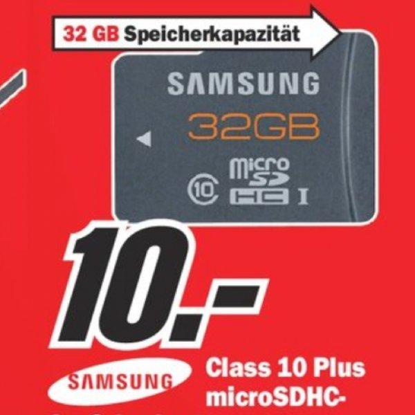 [MM Sulzbach Main-Taunus-Zentrum] Samsung Plus microSDHC 32GB Class 10 UHS-I (MB-MPBGC) Speicherkarte