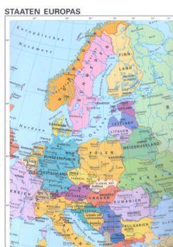 Gratis beidseitig bedruckte Karten von Deutschland, Europa und Welt @ Bundeszentrale für politische Bildung