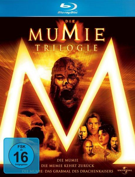 Die Mumie - Trilogy [Blu-ray] bei amazon.de für EUR 13,97 - Kostenlose Lieferung ab EUR 20 oder für Prime-Mitglieder