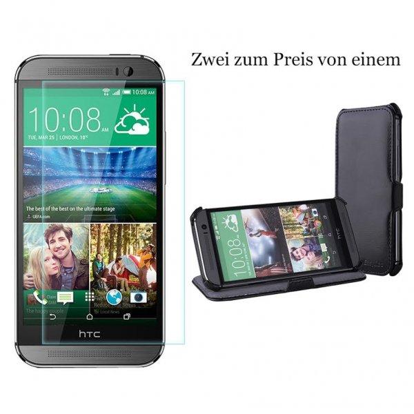 Gratis HTC ONE (M8) Hülle beim Kauf von einer EasyAcc® HTC ONE (M8) Gehärtetem Glas Displayschutzfolie