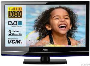 AOC LED-TV 24 Zoll (Full HD, 2 x HDMI, DVB-T) @Ebay -16%