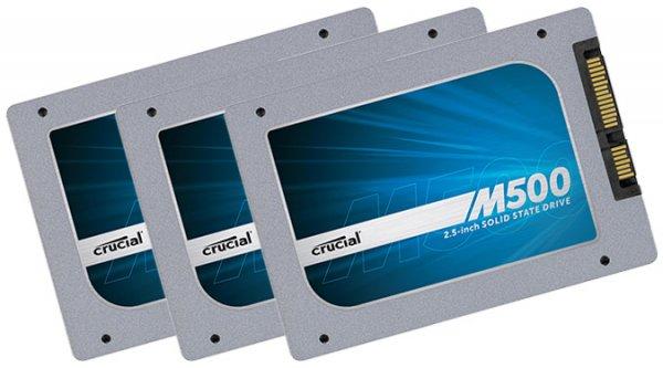 "120GB Crucial M500 SSD 2,5"" für unter 50€ inkl. VSK @conrad"