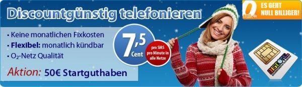 Smartphone discoTEL PLUS 7,5Cent inkl. 50€ abtelefonieren dann weg da mit oder auch nicht ^^