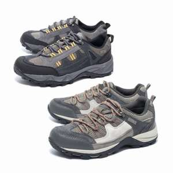 Damen Herren Leder Trekking Schuhe Wanderschuhe Outdoorschuhe Walking Gr.37-45  @ebay