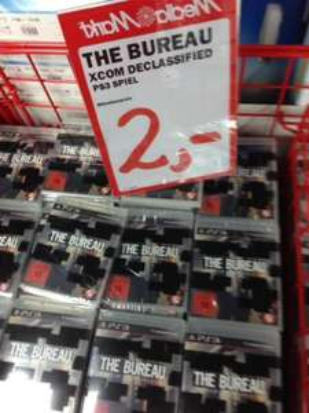 PS3 The Bureau Xcom Declassified 2 € Media Markt Bayreuth