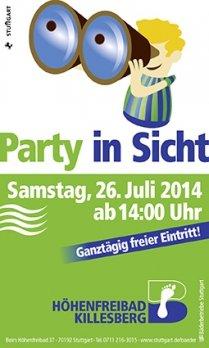 (lokal) Freier Eintritt im Höhenfreibad Killesberg in Stuttgart am 26. Juli