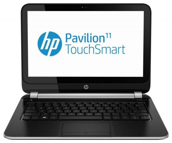 HP Pavilion 11-e010sg TouchSmart für 269€ - 11 Zoll Sleekbook mit Touchscreen und AMD A4-1250